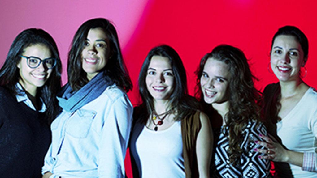 Alunas do 7º PP matutino vencem competição para campanha de vestibular do departamento