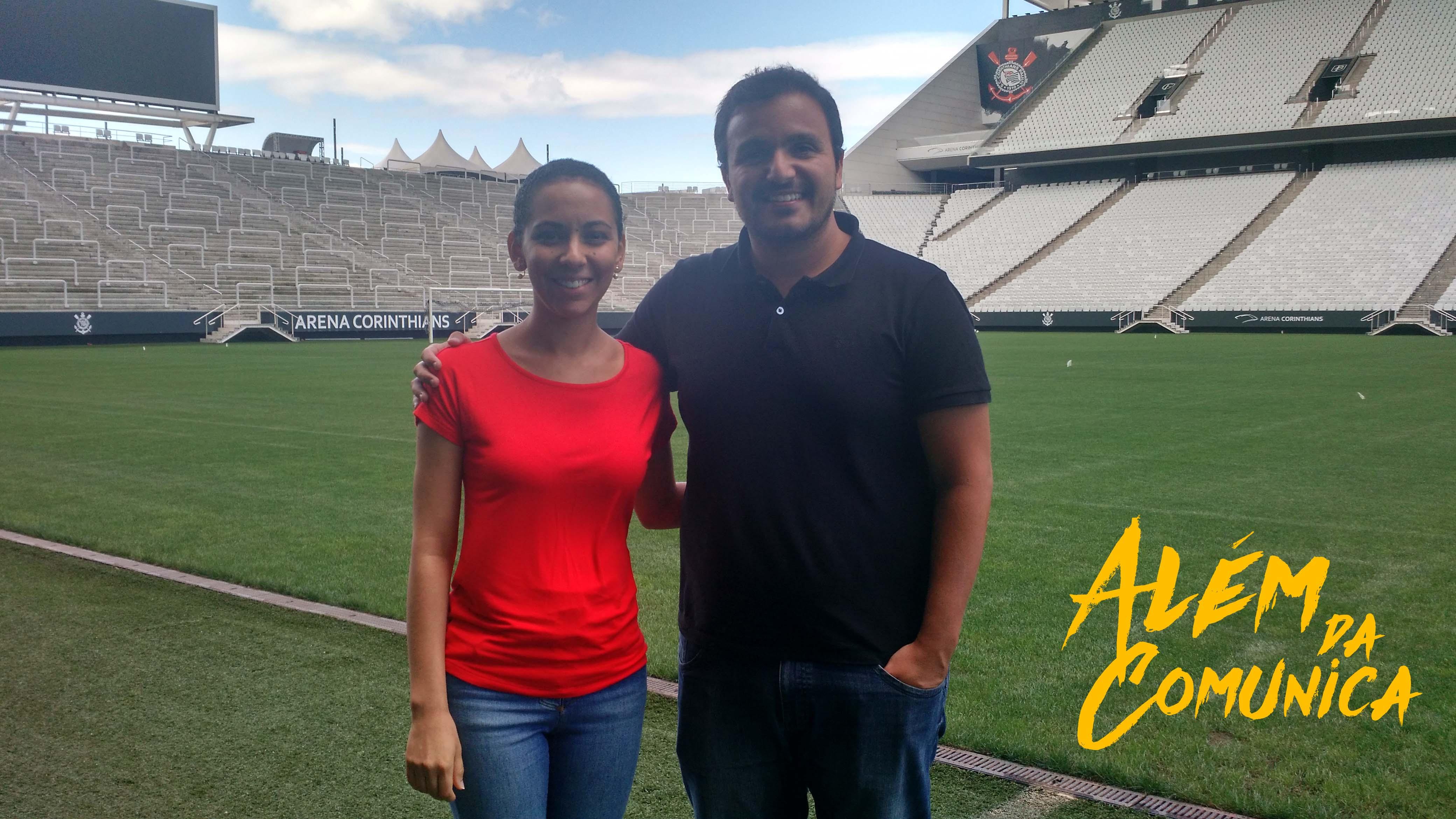 Publicitária apresenta monografia de especialização sobre Arena Corinthians em SP