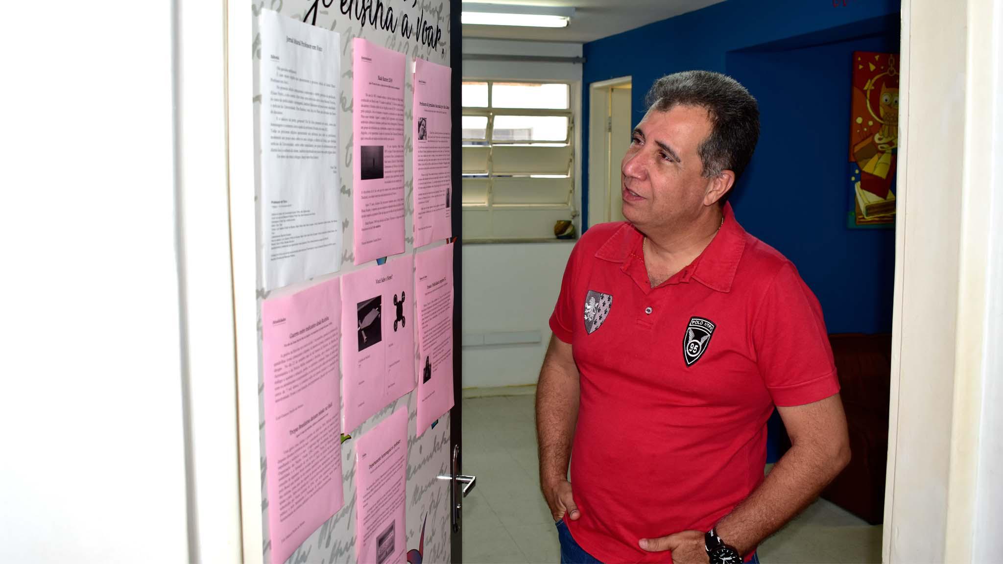 Departamento recebe Jornal interno de acadêmicos